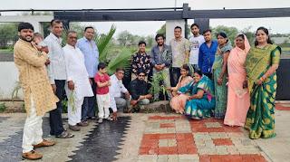 हरण परिवार ने अपने बेटे अंकित हरण की शादी में पर्यावरण का अद्भुत सन्देश दिया