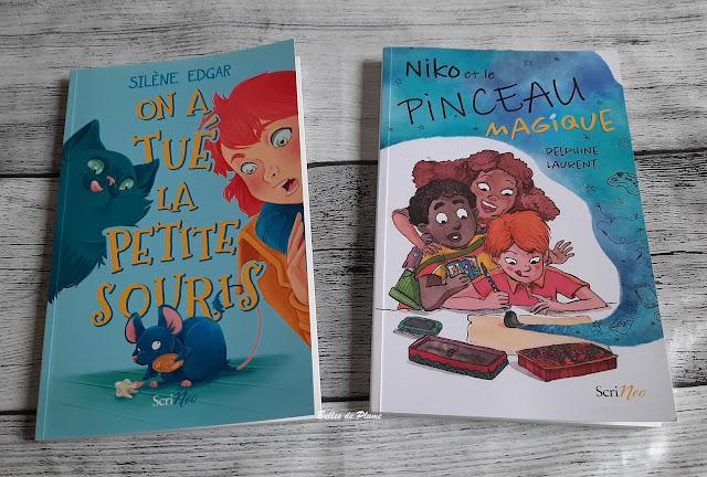 Bulles de Plume - On a tué la Petite Souris et Niko et le pinceau magique (Editions Scrineo)