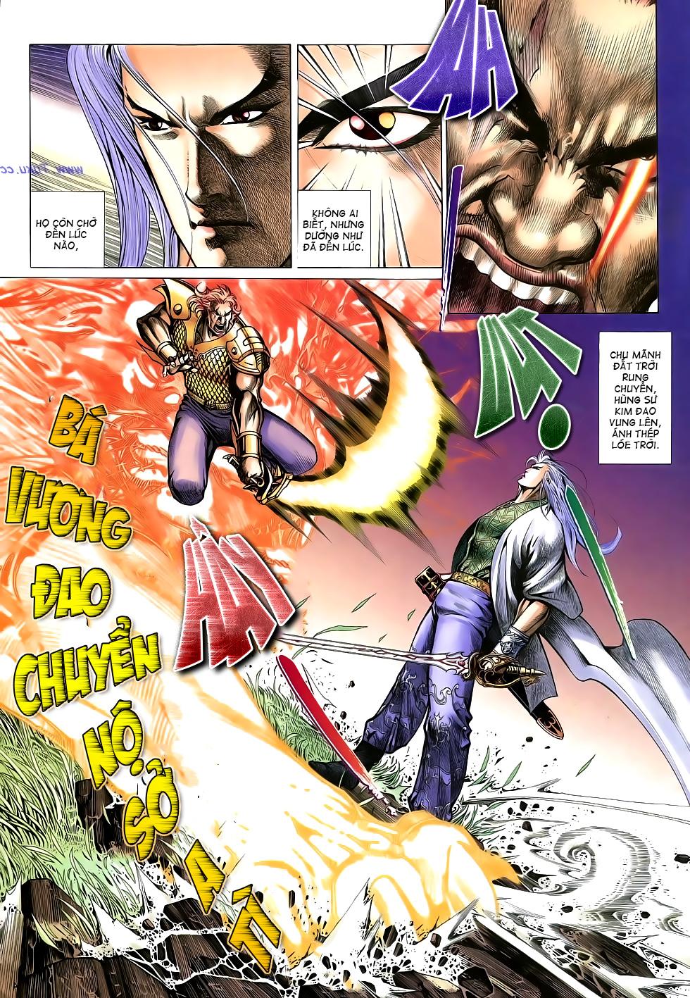 Anh hùng vô lệ Chap 16: Kiếm túy sư cuồng bất lưu đấu  trang 5