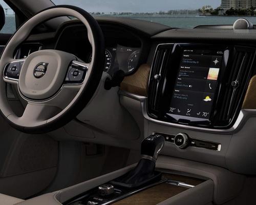 Tinuku Multimedia high-tech Volvo S90 change interior design Swedish luxury brand