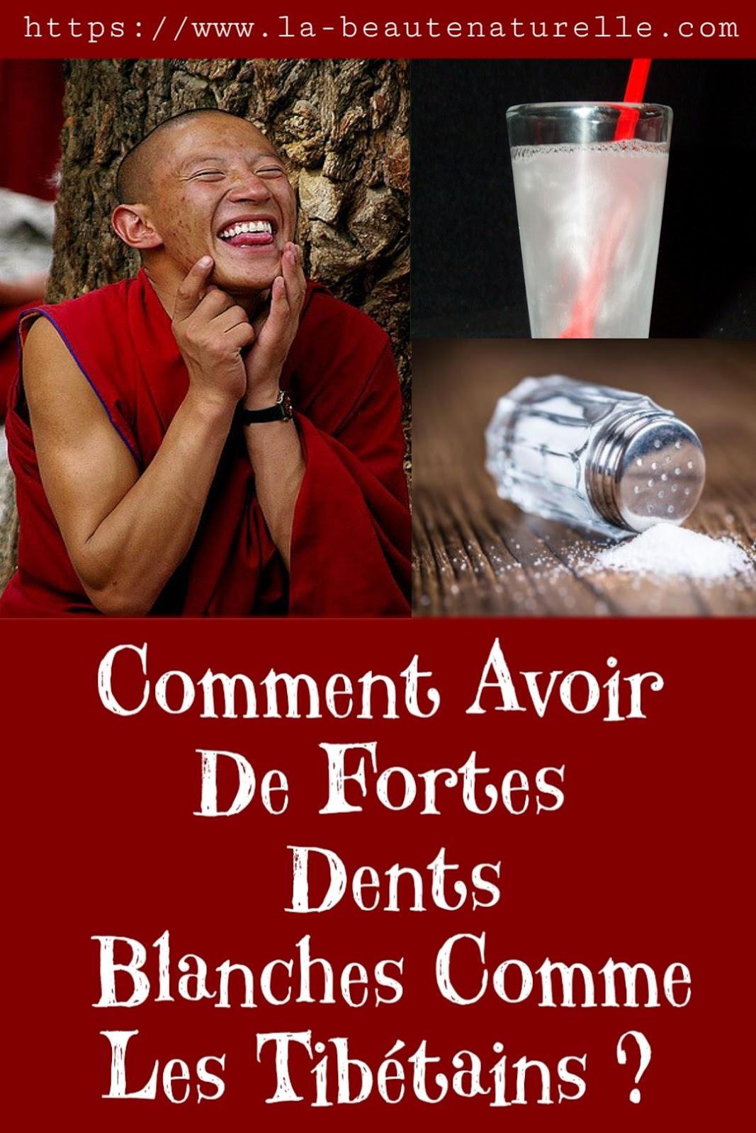 Comment Avoir De Fortes Dents Blanches Comme Les Tibétains ?