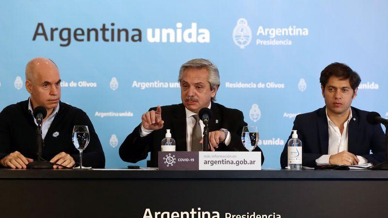 Alberto Fernández anuncia hoy la extensión de la cuarentena con más restricciones en AMBA
