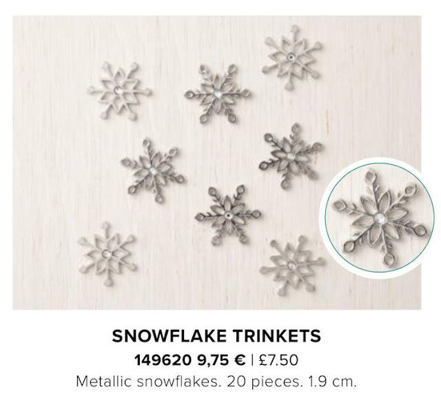 Snowflake Trinkets by Stampin' Up!