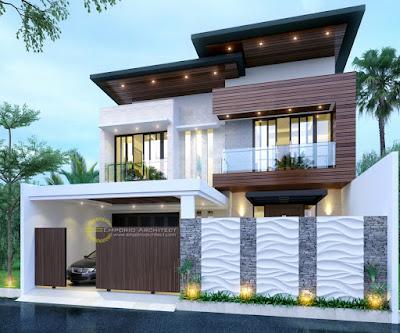Gambar Desain Rumah Minimalis Modern Terbaru 2020