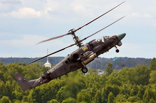 Gambar 09. Foto Helikopter Tempur Kamov Ka-52 Alligator