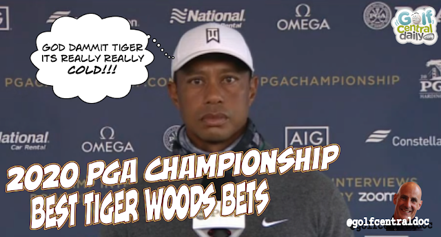Tiger Woods betting angles at the 2020 PGA Championsip
