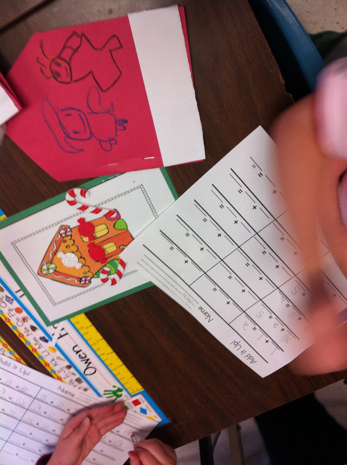 Mrs Anton S Grade 1 Fun Santa Hat Books