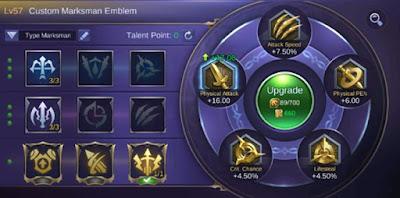 Cara Cepat Meningkatkan Level Emblem di Mobile Legends