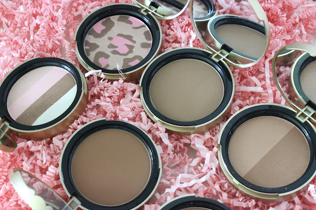 passport to bronze, too faced bronzers, pink leopard, snow bunny, beach bunny, sun bunny, chocolate soleil, milk chocolate soleil, dark chocolate soleil, bronzer, review, makeup review