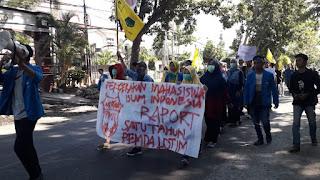 PMII Lombok Timur Beri Rapor Merah Satu Tahun Kepemimpinan Sukma