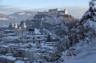 Salzburg (Austria) in winter !