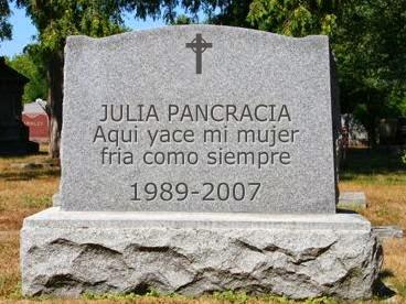 Resultado de imagen para epitafio