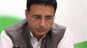 Randeep Singh Surjewala asks Sachin to come back