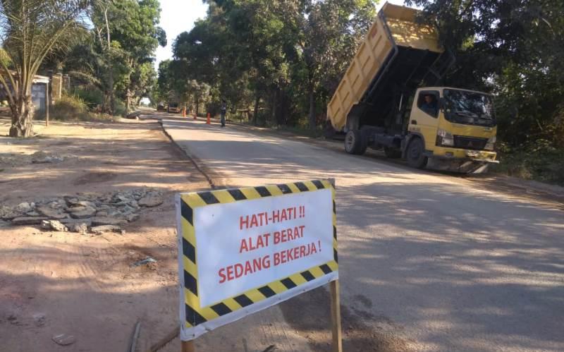 PT TIS Jalankan SOP Pengerjaan Preservasi Jalan dari Anggaran APBN Murni