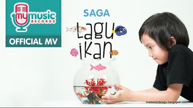 Saga - Lagu Ikan Lirik