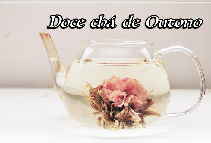 Te convido para um doce chá de outono comigo...