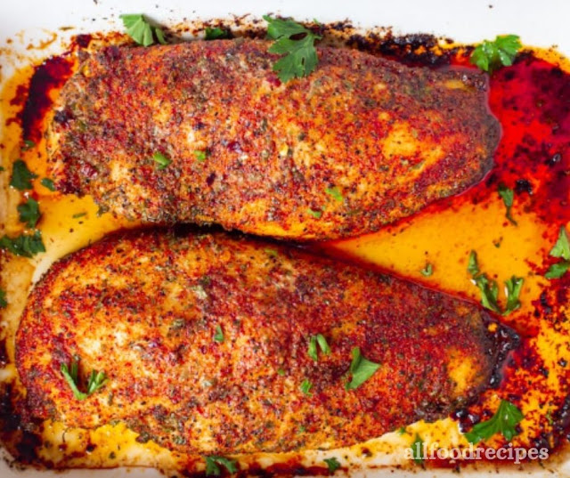 HOMEMADE PERFECT OVEN BAKED CHICKEN BREAST