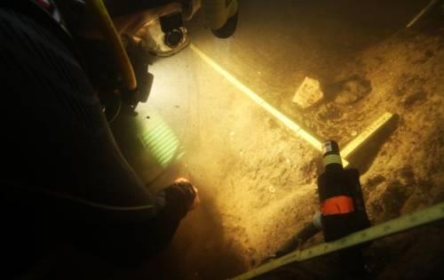 El sitio arqueológico Page-Ladson, a unos 45 minutos de Tallahassee, está situado a unos ocho metros bajo el agua en un sumidero del río Aucilla.