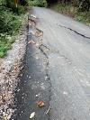 Diduga, pekerjaan proyek jalan nasional Wilayah II Sumbar memakai sertu kotor
