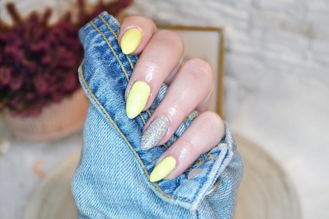 hybrydowe paznokcie pastelowe, neess, mylaq, semilac, indigo, neonail