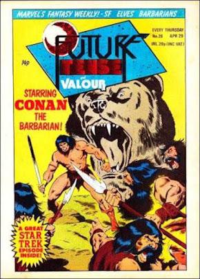 Future Tense and Valour #26, Conan the Barbarian