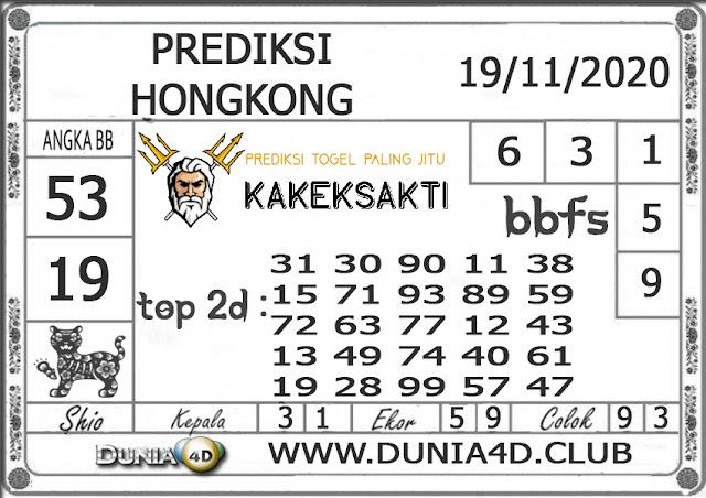 Prediksi Togel HONGKONG DUNIA4D 19 NOVEMBER 2020
