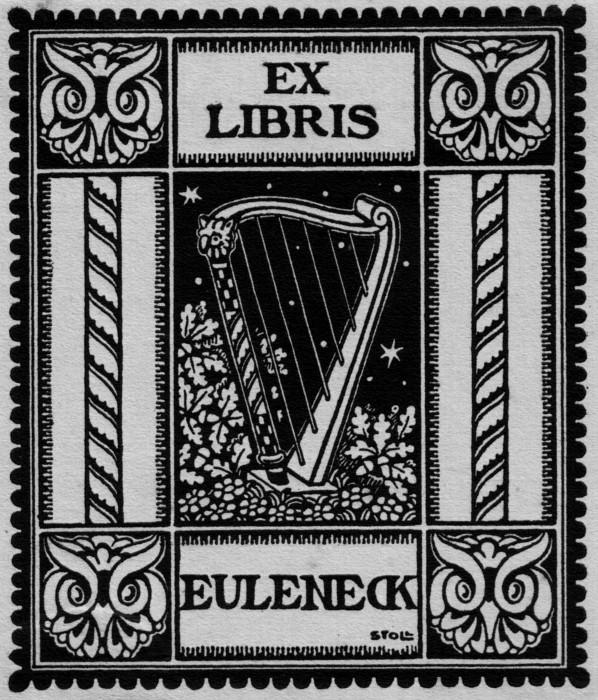 Joseph Stoll Bensheim - Ex Libris