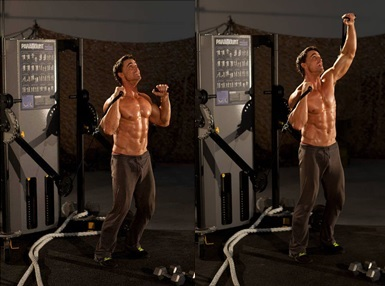Cara Membentuk Otot Bahu dengan Latihan Beban