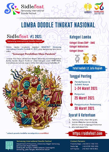 Lomba Doodle Tingkat Nasional, Sidlefest #1 2021