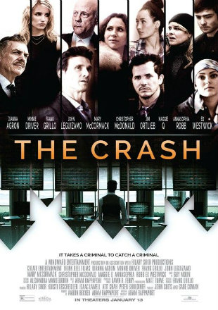Poster of The Crash 2017 Full Movie HDRip 720p 800Mb