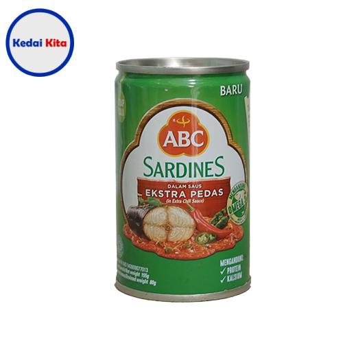 ABC Sardines Ekstra Pedas 155 Gram