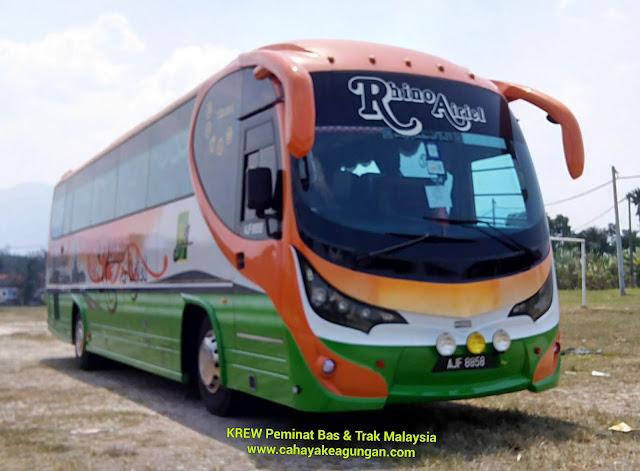 RHINO AIRIEL TRAVEL & TOUR SDN BHD - BUS SERVICES @ IPOH PERAK