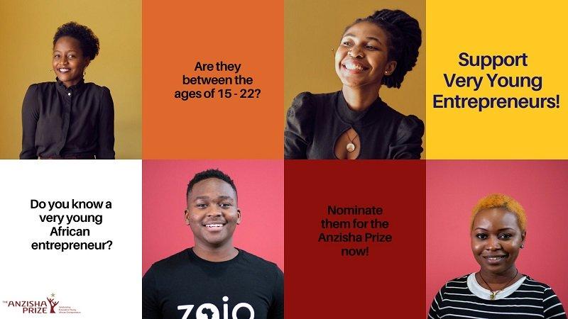 Anzisha Prize 2021 for Young Entrepreneurs