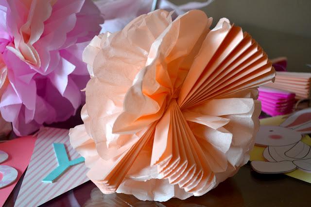 Mis Puntadas Preferidas Flores Gigantes De Papel