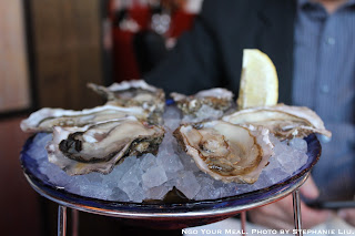 Oysters at Le Suffren