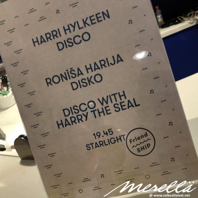 Harri Hylkeen disco
