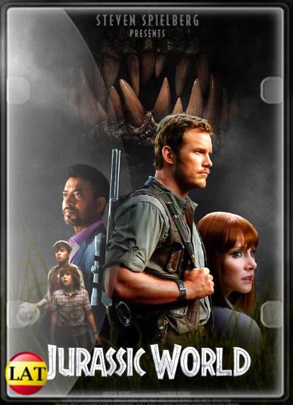 Jurassic World: Mundo Jurásico (2015) DVDRIP LATINO