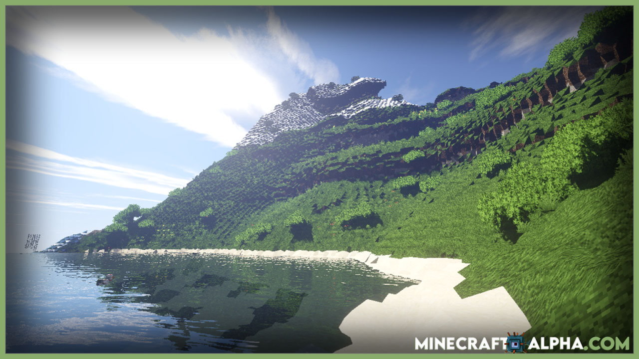 Minecraft NoCubes Mod For 1.17.1 (Smooth Terrain And Realistic Graphics)