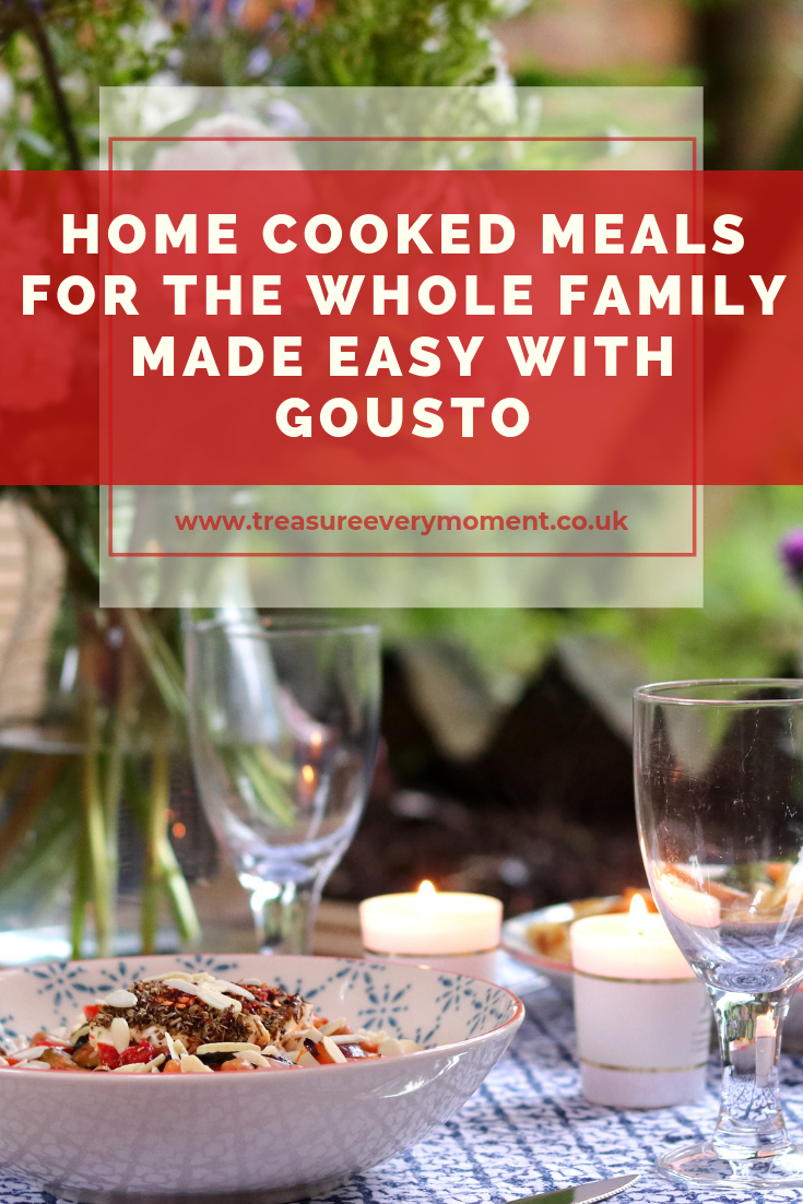 Home Cooked Meals for the whole Family made Easy with Gousto