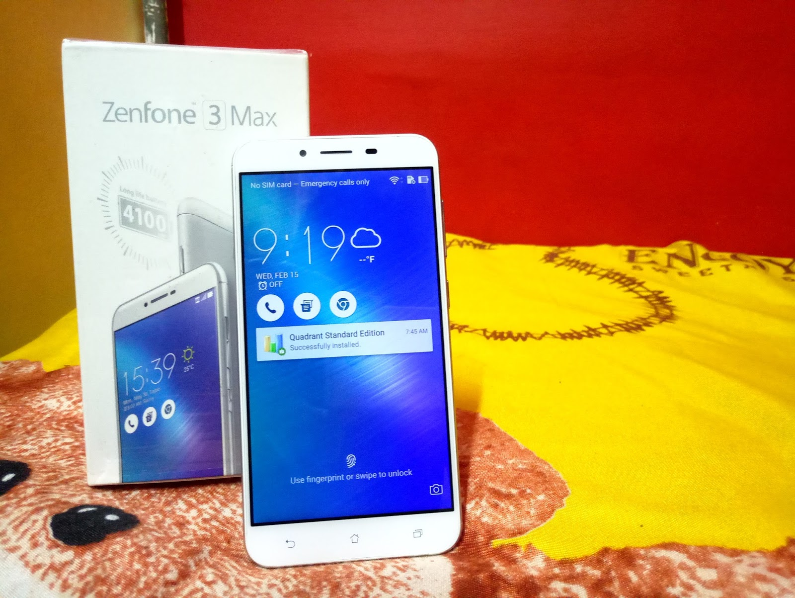 Asus Zenfone 3 Maxzc553kl Hands On Review The Nerd Tech Max 32gb Grey Includes Full Metal Frame With Smooth Finish Back Way In Which Camera Sensor Dual Tone Led Flash Laser Auto Focus Makes It