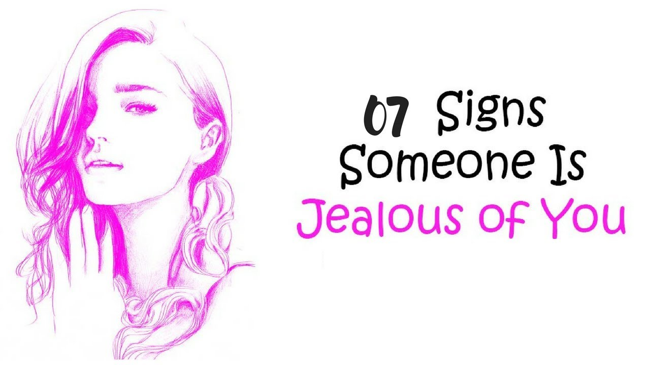 How to tell when someone is jealous of you