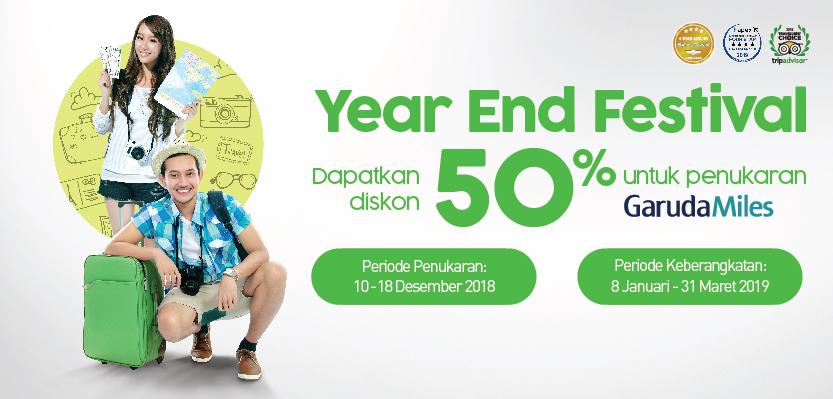 Citilink - Promo Diskon s.d 50% di Year End Festival 2018