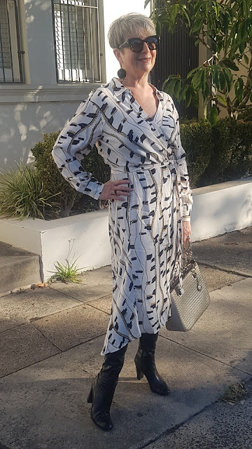 MY NEW SKY PRINTED MAXI DRESS BY REISS