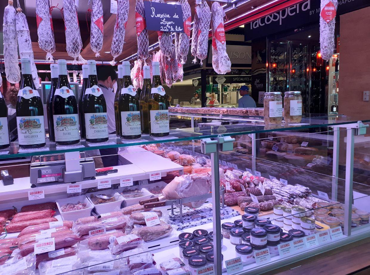 Les produits Sibilia - Halles de Lyon