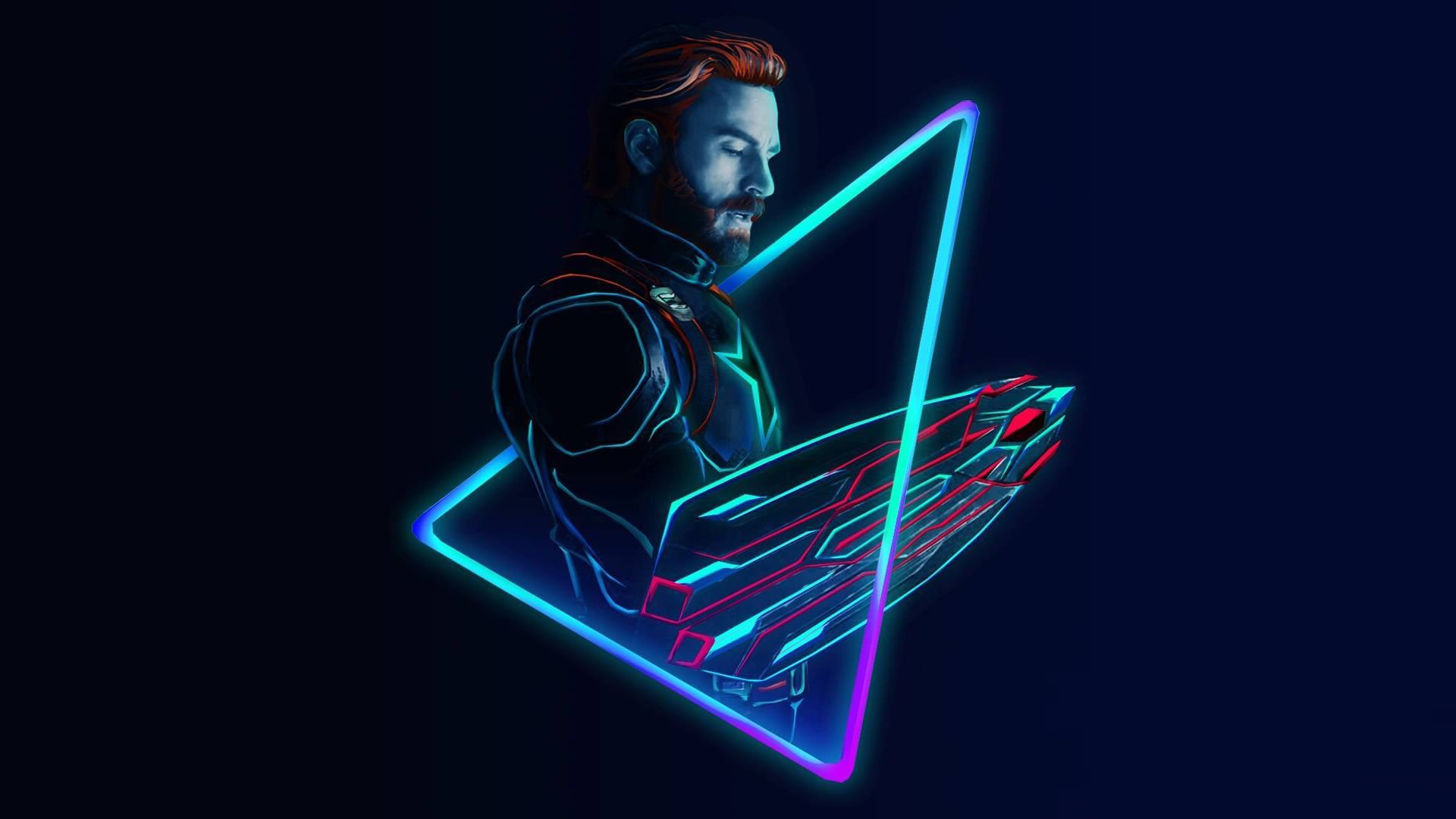 خلفيات كمبيوتر( نيون ) - neon wallpapers
