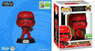 San Diego Comic-Con 2019 Exclusive Star Wars: The Rise of Skywalker Sith Trooper POP! Vinyl Figure by Funko
