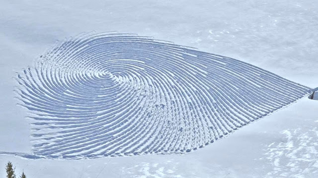 arte sobre nieve