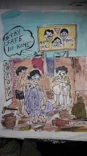"""कार्टूनिस्ट गणेश चन्द्र डे को आर्टिस्ट रेसीडेंसी""   #NayaSaberaNetwork"