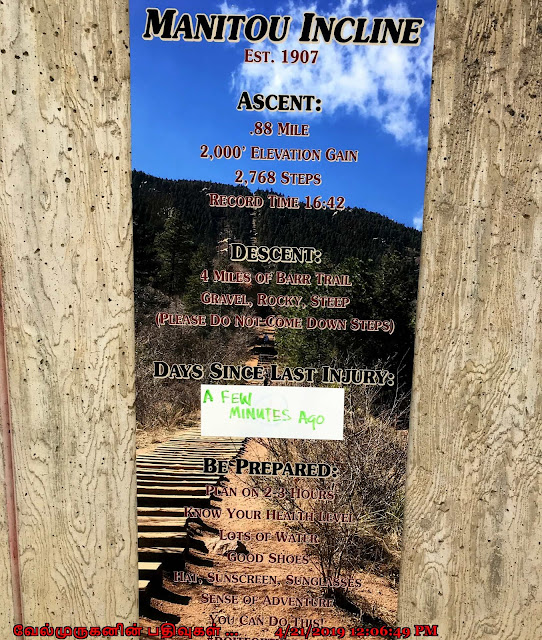 Manitou Incline Hike Facts