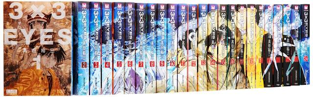 Como se ve la colección completa de Bunko japonesa.